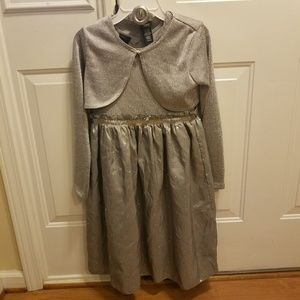 Girl's 10/12 winter/Christmas/holiday dress